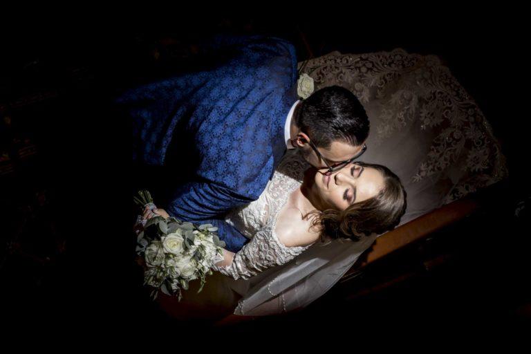 fotografie de nunta la interior