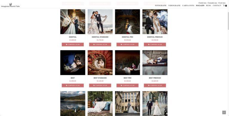 Magazin online foto-video nunta